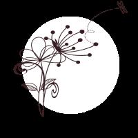 Ciao Pusteblume Blumen Pflanze Fliege Geschenk
