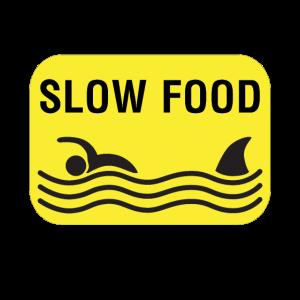 Lustig Slow Food Fast Food Hai Essen Geschenkidee