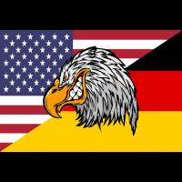 USA Germany Eagle