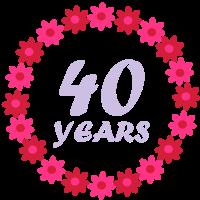 Vierzigsten Geburtstag
