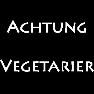 achtung vegetarier