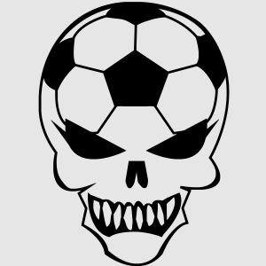 Totenkopf Fußball