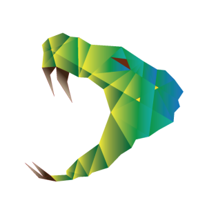 Kubismus Schlange