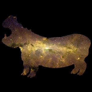 Nilpferd Tiere Universum