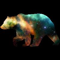 Bär Grizzly Tiere Universum Galaxy