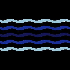 Wasser Linie Welle 5