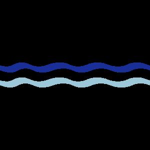 Wasser Linie Welle 2