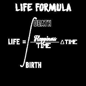 Mathe Formel Leben Mathematik Geburt Tod Lehrer