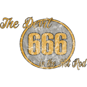 666 The Devil in the Hot Rod