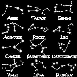 Sternzeichen Sternbilder Nachthimmel Horoskop