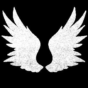 Engelsflügel, weiße Flügel