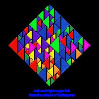 Linker und rechter Winkel Fisch, Schule von Pythagoras