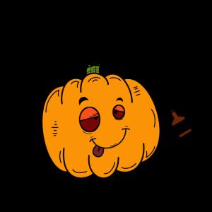 Drunkin Halloween Party Betrunkener Kürbis