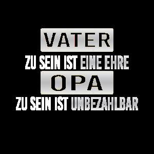 Opa TShirt Spruch Vatertagsgheschenk