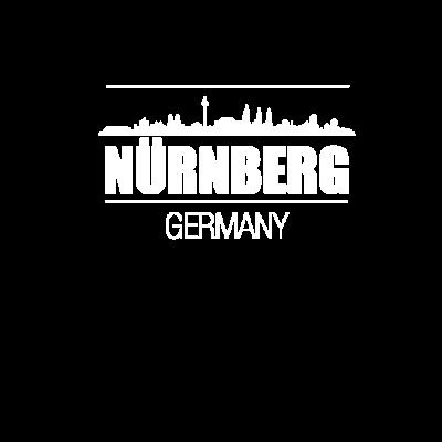 Nürnberg Germany mit Skyline, Geschenk - Tolles Nürnberg Germany Design mit Skyline. Perfekt für alle aus dieser Stadt oder die Nürnberg lieben. Als Geschenk ist es natürlich auch gut geeignet - Nuernberg,Nürnberg Germany,Geschenkidee,Nürnberg Hochhäuser,Nürnberg Skyline,Geschenk,Nürnberg Deutschland,Nürnberg