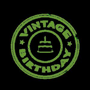 Rentner Geburtstag Vintage