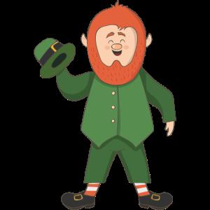 St. Patrick's Day Kobold Gnom