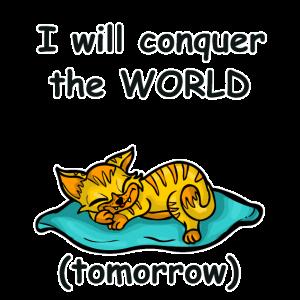 Lustiges Katzen Shirt