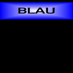 Psychologie der Farbe BLAU