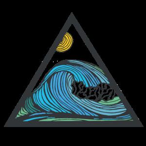 wave - line art