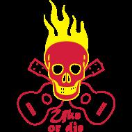 Motiv ~ Uke or die burning skul