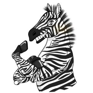 Zebra Strong Zebra
