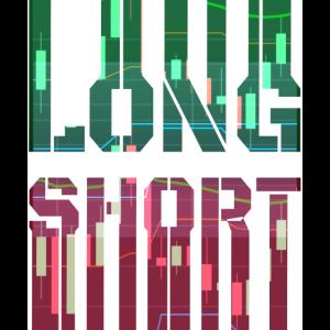 Long / Short Trading Börse Shirt