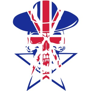 tete mort9 drapeau anglais head skull de