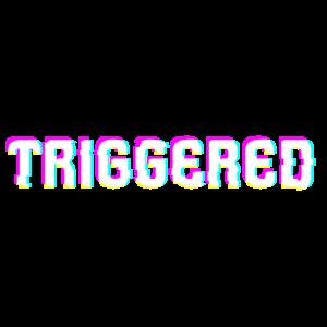 triggered Tv-glitch Design