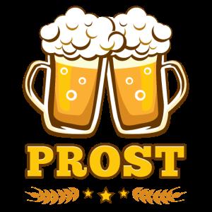 Prost Bier biergarten Oktoberfest trinkspruch