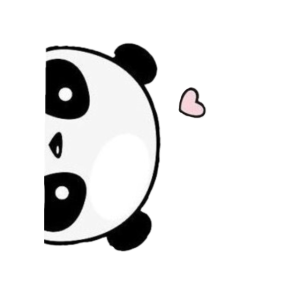 Süße Panda-Liebe