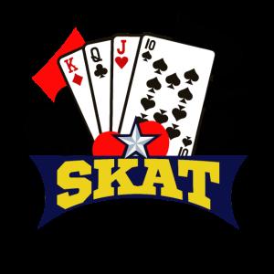 Ich liebe Skat Kartenspiel, Karten Geschenkidee