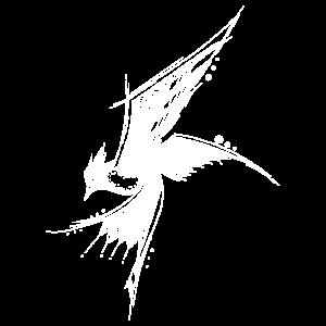 Kunstvoller Paradies Vogel - Art Style