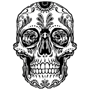 Totenkopf SHIRT - Mexican Tattoo style