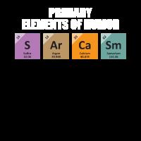 Humor Elemente Wissenschaft Nerd Chemie Geschenk