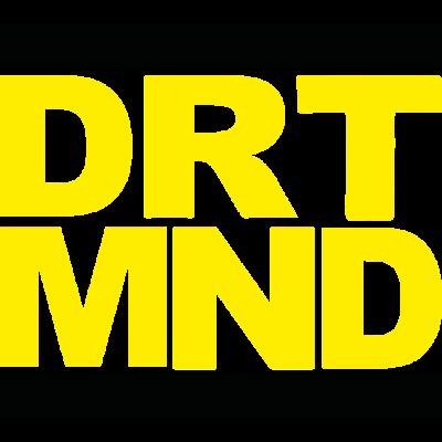 Dortmund DRT MND - Das Logo für den Dortmunder - DRT MND,RUN,Dortmund,Gelbe schleife,gelb