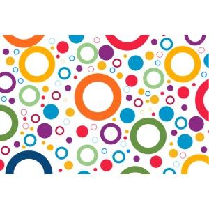 Cercles multi couleurs