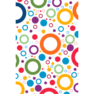 Kreise Multi helle Farben