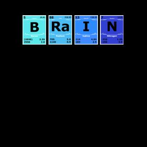 Brain Chemie Wissenschaft Periodensystem