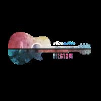 Akustik Und Elektrische Gitarre Geschenk Idee