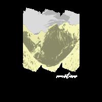 GEBIRGE PANORAMA T-Shirt Geschenkidee