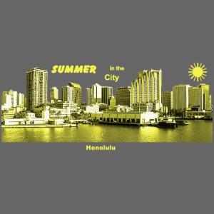 Honolulu Hawaii Summer City