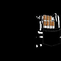 Zigaretten in der Brusttasche - lustiges Geschenk