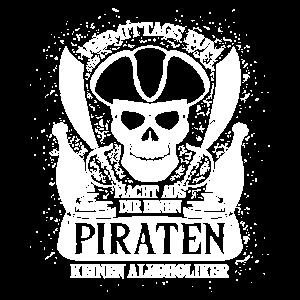 Vormittags Rum = Pirat - Geschenk
