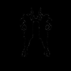 Zwilling Sternzeichen beim Tanzen