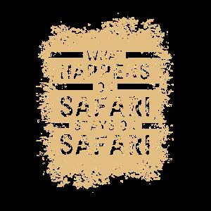 Safari: Was auch dort passiert Shirt Geschenk