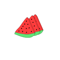 vegetarische Melone