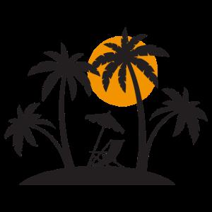 Urlaub Strand Karibik Reisen Sonne Lustig Geschenk