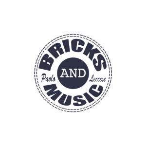 logo Bricks and Music BLUE