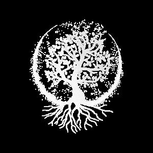 Lebensbaum (dunkler Hintergrund)